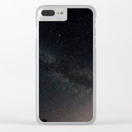 Far beyond this world Clear iPhone Case