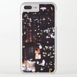 chicago / unfocused city collection Clear iPhone Case