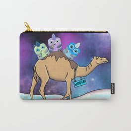 Wondrous & Whimzical Places: Riding Through Opal Desert Carry-All Pouch