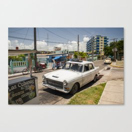 Backstreets of Varadero Canvas Print