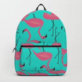 Bright flamingo Backpack