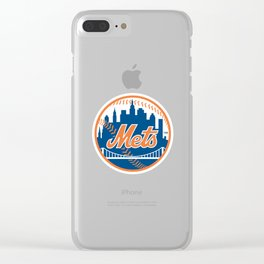 New Yorks Mets Clear iPhone Case