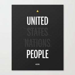 UP - United People Canvas Print