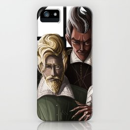 faust and mephistopheles iPhone Case