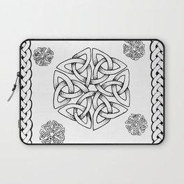 Celtic Knot Snowflake Laptop Sleeve