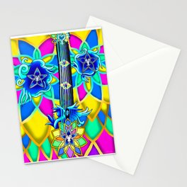 Fusion Keyblade Guitar #154 - Nightmare's End Reality Shift & Brightcrest Stationery Cards