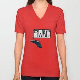 Swag Whale Unisex V-Neck