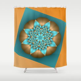 almost symmetrical -b- Shower Curtain