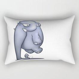 My Digital Zoo - Elephant Rectangular Pillow