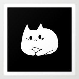 cat 44 Art Print