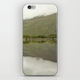 Reflections from Diamond Lake iPhone Skin