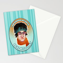 I am Darren Nichols. Deal with THAT. Stationery Cards