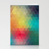 reassurance Stationery Cards featuring Abstract Geometric Pattern by Rothko
