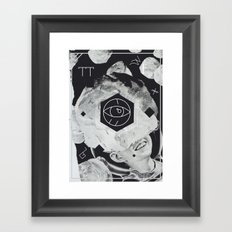 Moon Eye Framed Art Print