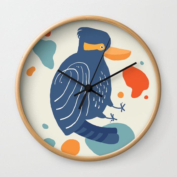 Quirky Laughing Kookaburra Wall Clock