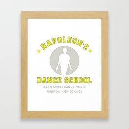 Napoleon's Dance School, Artwork, Tshirts, Posters, Prints, For Men, Women, Kids, Youth T-Shirt Framed Art Print