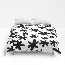 Secret Buttholes - WHITE Comforters