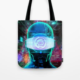 Vision 2077 Tote Bag