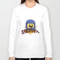 spaceship Long Sleeve T-shirts featuring Spaceship!  by Brieana