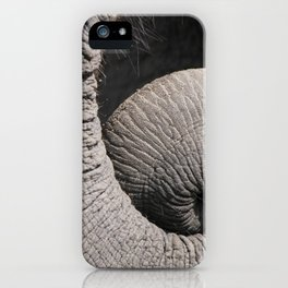 Curl Up iPhone Case