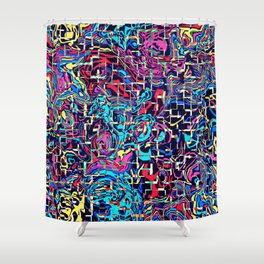 Imprint Character Shower Curtain