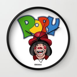 Ponte Popy / Popy Art Wall Clock