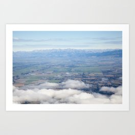Canterbury Plains Art Print