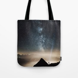 Light and Magic 002 // Shine a Light Tote Bag