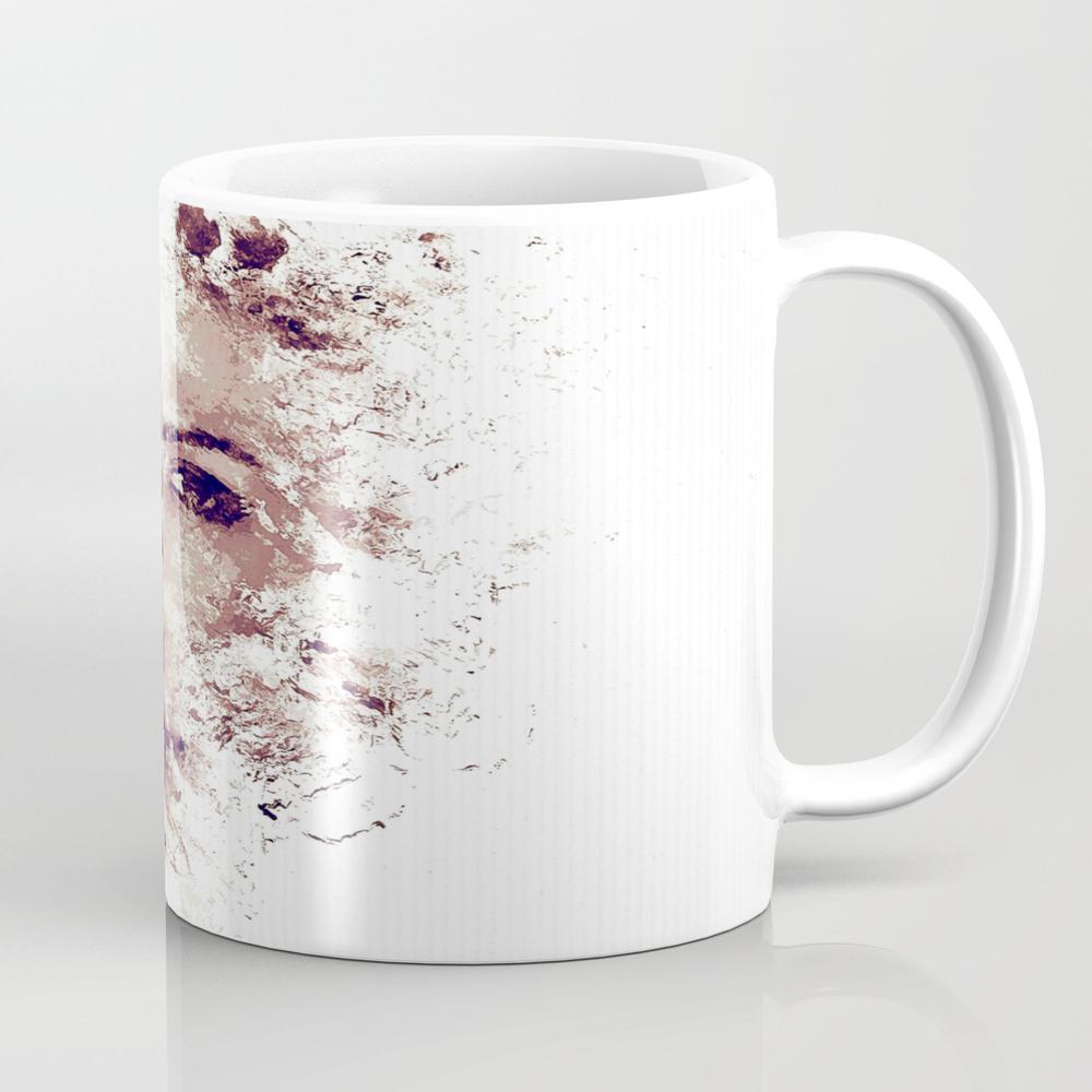 Drawing Woman Face Mug by Lovecomunication MUG8811431