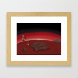 Nero Svenfor: Conquest of the planet Astrasuri-3 Framed Art Print