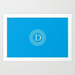 The Circle of D Art Print
