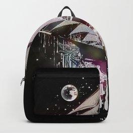 dreamlike sailing ship Backpack