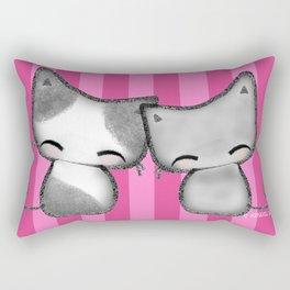 Best Friends (Smittened Kittens) Rectangular Pillow