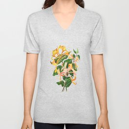 Honeysuckle Bouquet Unisex V-Neck