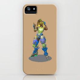 Pixel Lucio iPhone Case