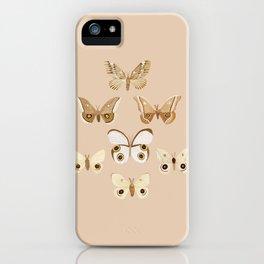 pale moths iPhone Case