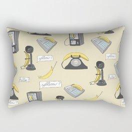 Prank Calls Rectangular Pillow