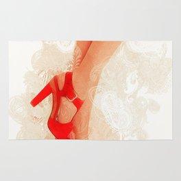 Sexy Heels Rug