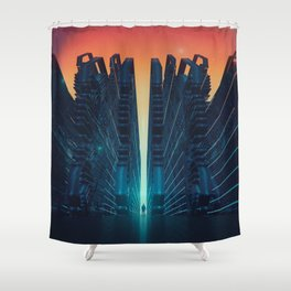 EGFX TECHNO GATEWAY M1116 Shower Curtain