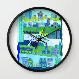 Richmond City Wall Clock