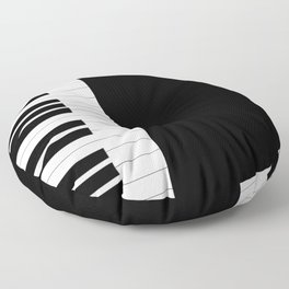 Piano Keys Floor Pillow
