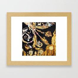 Gilded Cultivation Framed Art Print