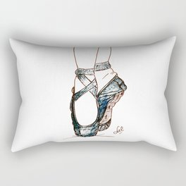Dance shoes Rectangular Pillow