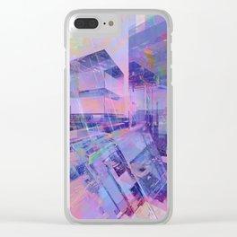 Blue Dream 10 Clear iPhone Case