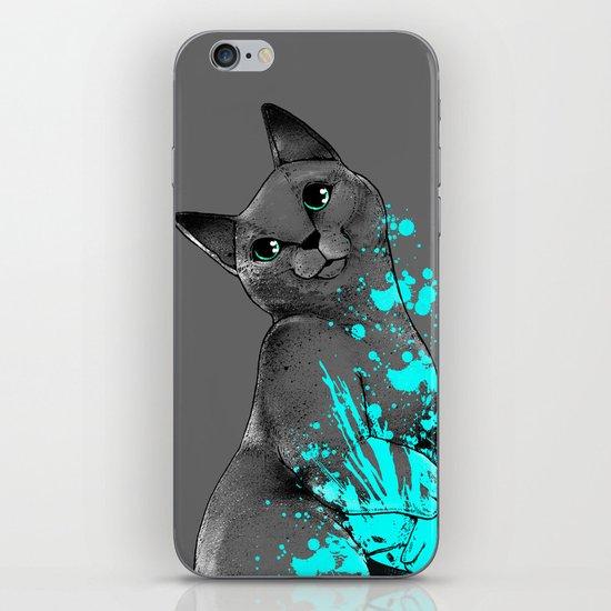 Russian Blue iPhone & iPod Skin