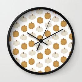 Pumpkins Pumpkins Pumpkins Wall Clock
