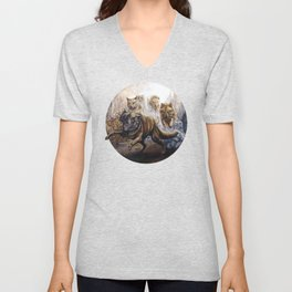 Pack of Wolves Unisex V-Neck