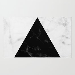 Marble Triangle Collage Rug