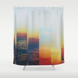 Fractions A21 Shower Curtain