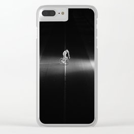Night Rider #1 Clear iPhone Case